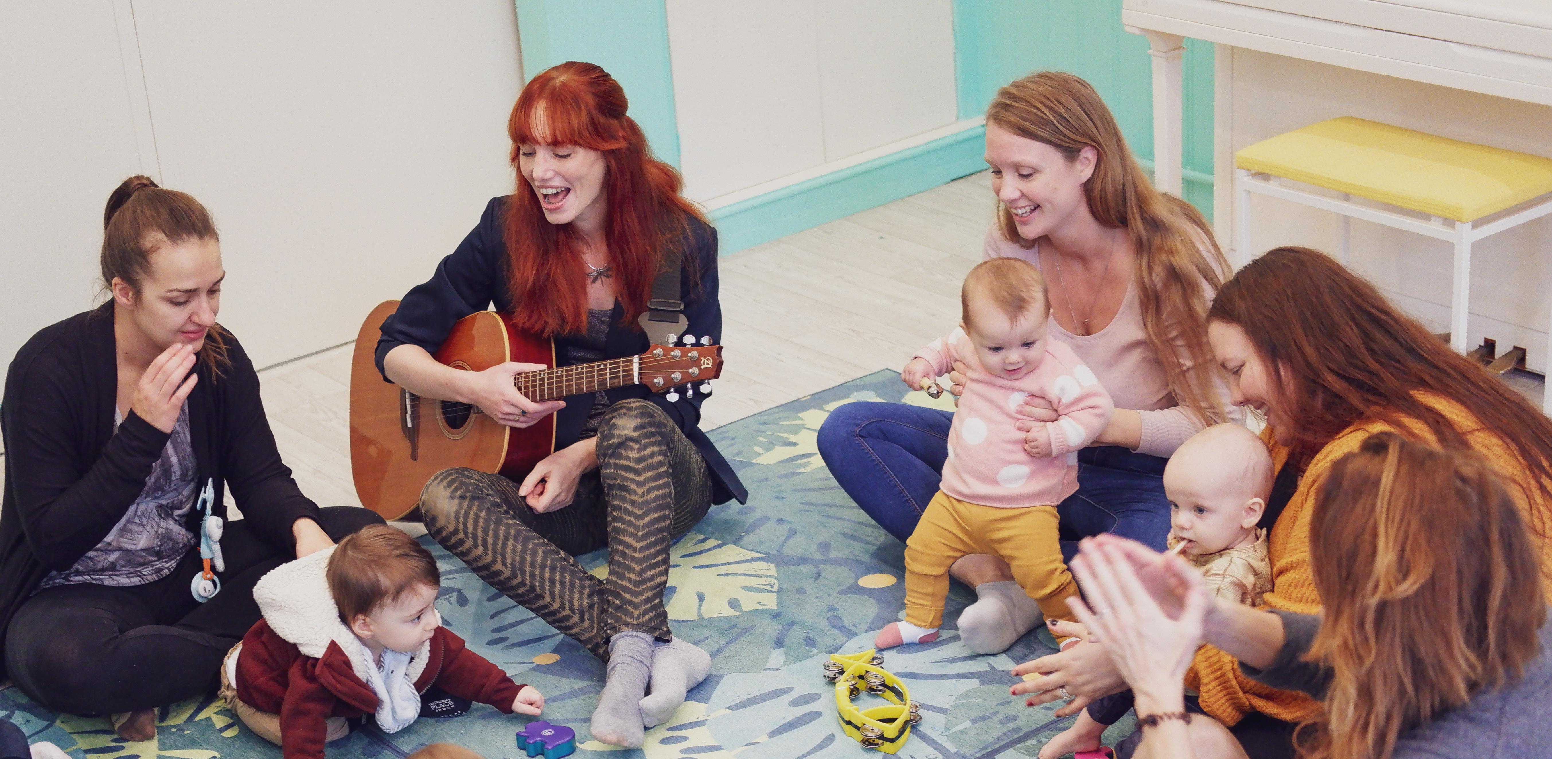 Ouder-kind lessen (0 – 4 jaar)